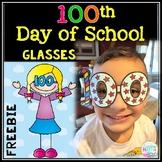 100th Day of School Glasses FREEBIE