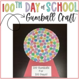 100th Day of School Gumball Activity