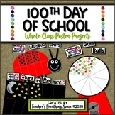 100th Day of School --- Gumball Machine, Ladybug & Starry