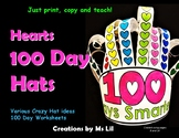 100th Day of School Hat  ::  100th Day of School Activitie