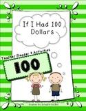100th Day of School - If I Had 100 Dollars