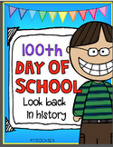 100th Day of School 100 years Ago