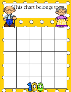 100th Day of School Incentive Chart
