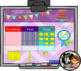 100th Day of School Interactive Calendar for SMART Board PK, K, 1st, 2nd