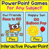 Review Games for Any Subject - 100th Day of School Smartboard Games