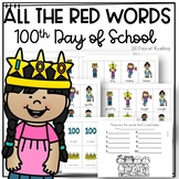 100th Day of School Irregular Word Game for Fluency Practice