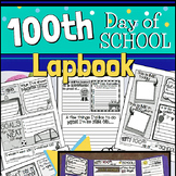 100th Day of School Lapbook for Elementary Students