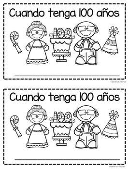 100th Day of School Librito en español