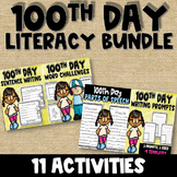 LITERACY BUNDLE- 100th Day of School