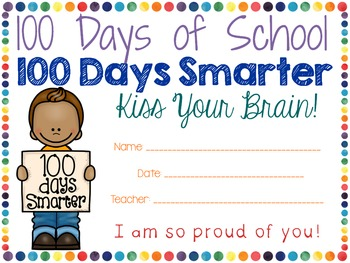 100th Day of School Math and Literacy Activities