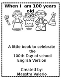 100th Day of School Little Book