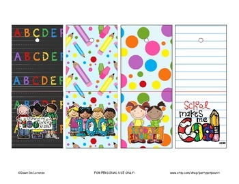 {FREE} 100th Day of School Lollipop Covers!