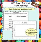 100th Day of School M&M Activity