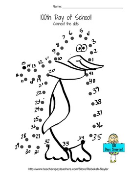 Kindergarten 100th Day of School: Math Activities