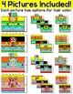 100th Day of School Activities - Math Color by Code 3D Characters