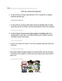 100th Day of School Math Homework