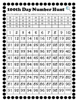 100th Day of School Math & Literacy Activities Pack - 1st Grade
