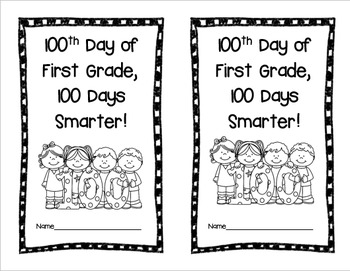 100th Day of School Math, Literacy, and Extras