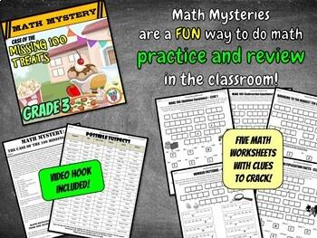 100th Day of School Math Mystery Activity - 3rd Grade Math ...