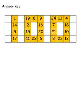 100th Day of School Math Puzzle - Addition and Subtraction