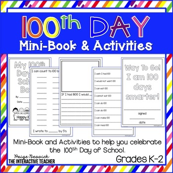 100th Day of School Mini-Book