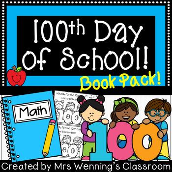 100th Day of School Mini-Book!