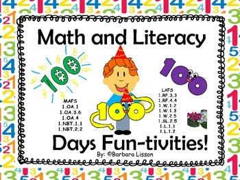 100th Day of School: NO-PREP FUN-tivities!