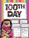 100th Day of School {Celebrate 100 Days of School with Math, Writing, & More}