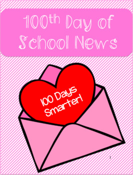 100th Day of School Newsletter