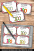 Order of Operations Task Cards, 100th Day of School Math Games SCOOT
