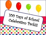 100th Day of School Packet