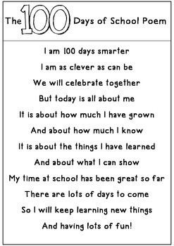 100th Day of School Party Pack and Worksheets