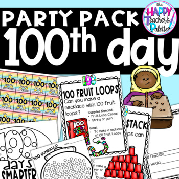 100th Day of School Party Pack