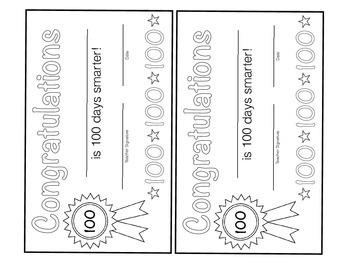 100th Day of School Pattern Blocks