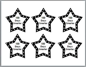 100 Days of School - Pencil Toppers
