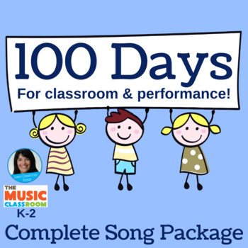 "100th Day of School Performance Song | ""100 Days"" 