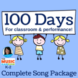 100th Day of School Song and Activity   mp3s, music, lesso
