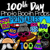 100th Day of School Photo Booth Props {Made by Creative Cl