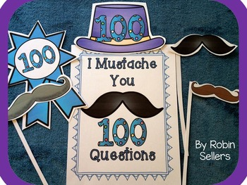 100 Days of School {100th Day Photo Props and 100 Days Posters}