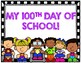 100th Day of School Picture Pages and Photo Signs