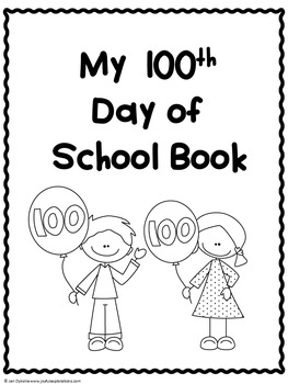 100th Day of School Printable Activity Books