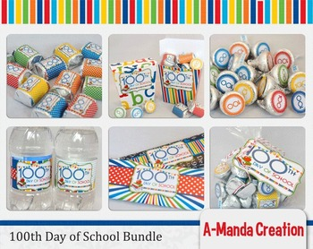 100th Day of School Printable Bundle