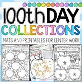 100th Day of School Collections Printables