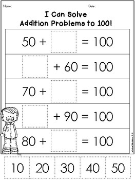 100th Day of School Printables