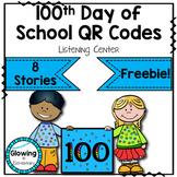 100th Day of School QR Code Listening Center