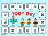 100th Day of School QR Codes