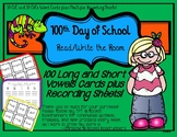 100th Day of School Read/Write the Room