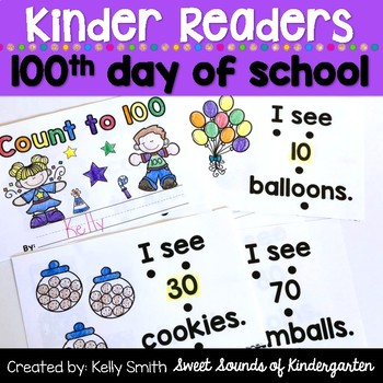 100th Day of School Reader