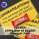 100th Day of School SAMPLE