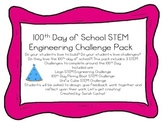 100th Day of School STEM Challenge Pack